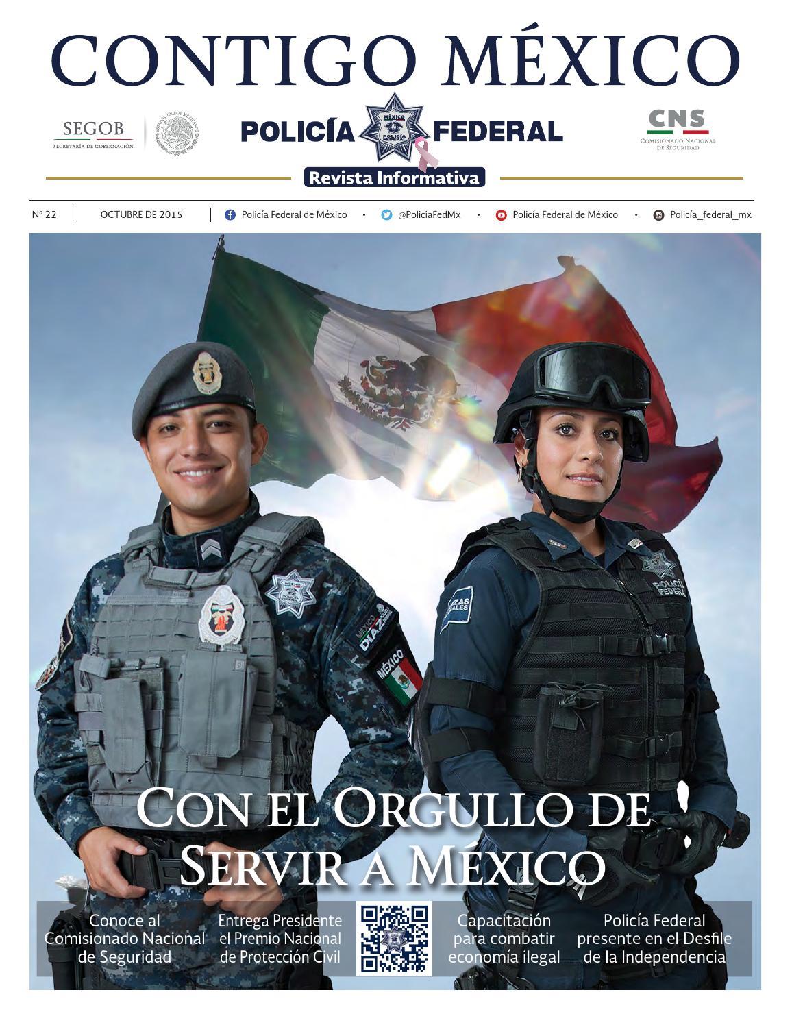 Revista Informativa N 22 By Polic A Federal De M Xico Issuu