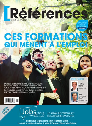 df510ecd0ba471 Ces formations qui mènent à l emploi by Jobs   Careers CV - issuu