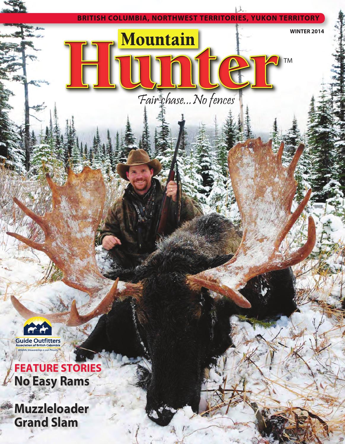 Winter 2014 mountain hunter magazine by guide outfitters of bc issuu solutioingenieria Gallery