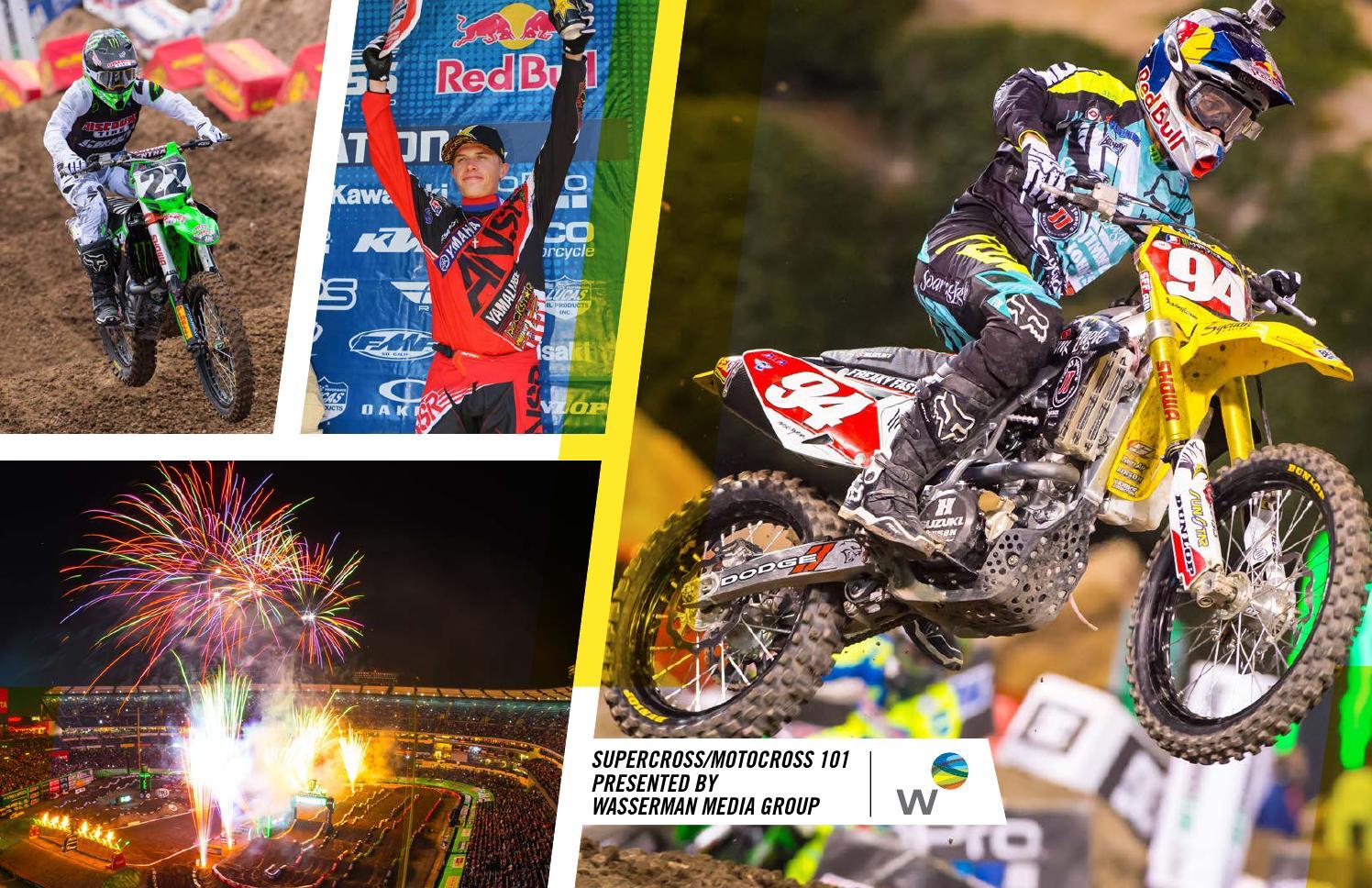 Supercross Motocross 101 Presented By Wasserman By Wasserman Issuu