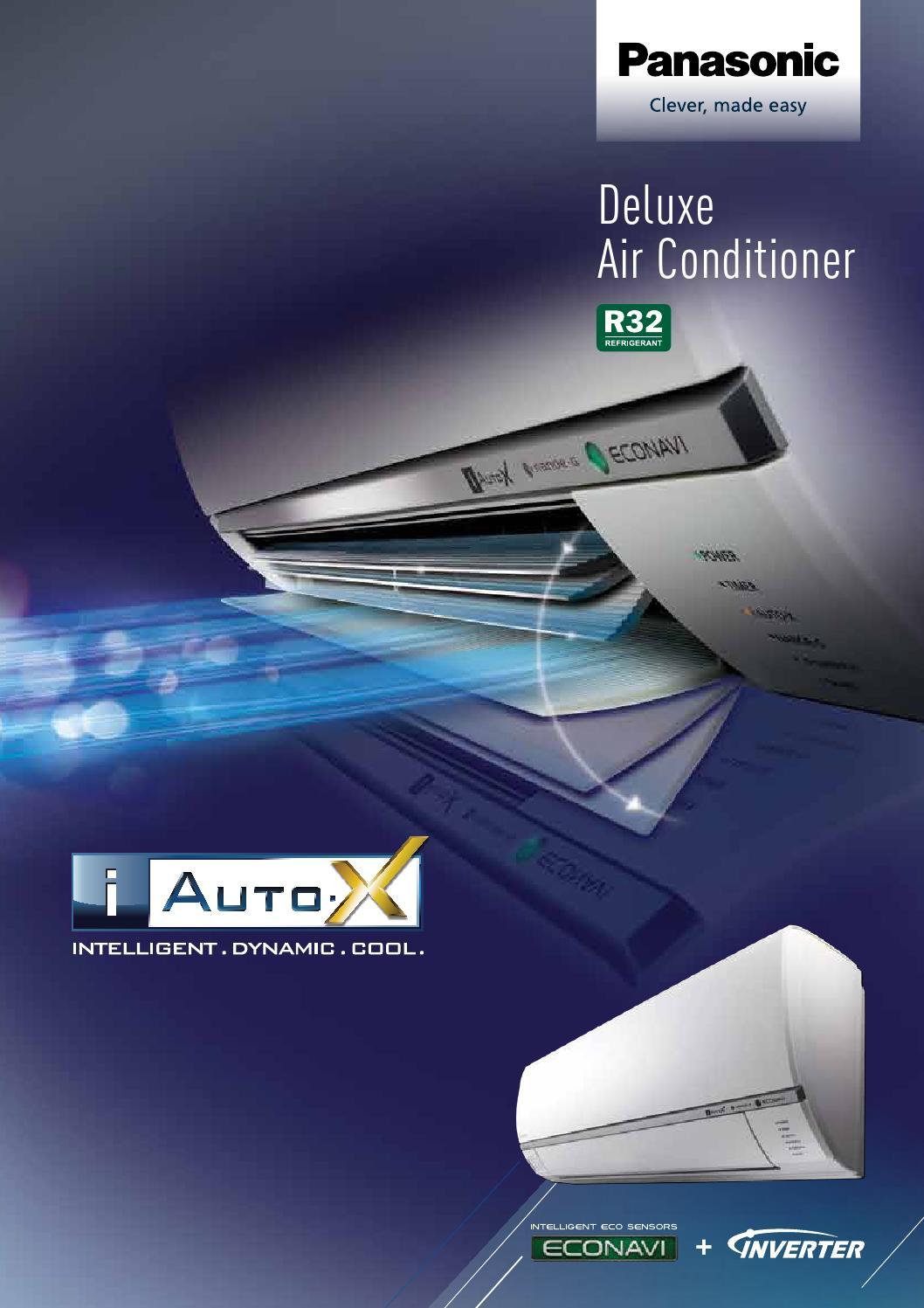 J0004749 Deluxe Ac Brochure Update V4 By Panasonic Nz Issuu