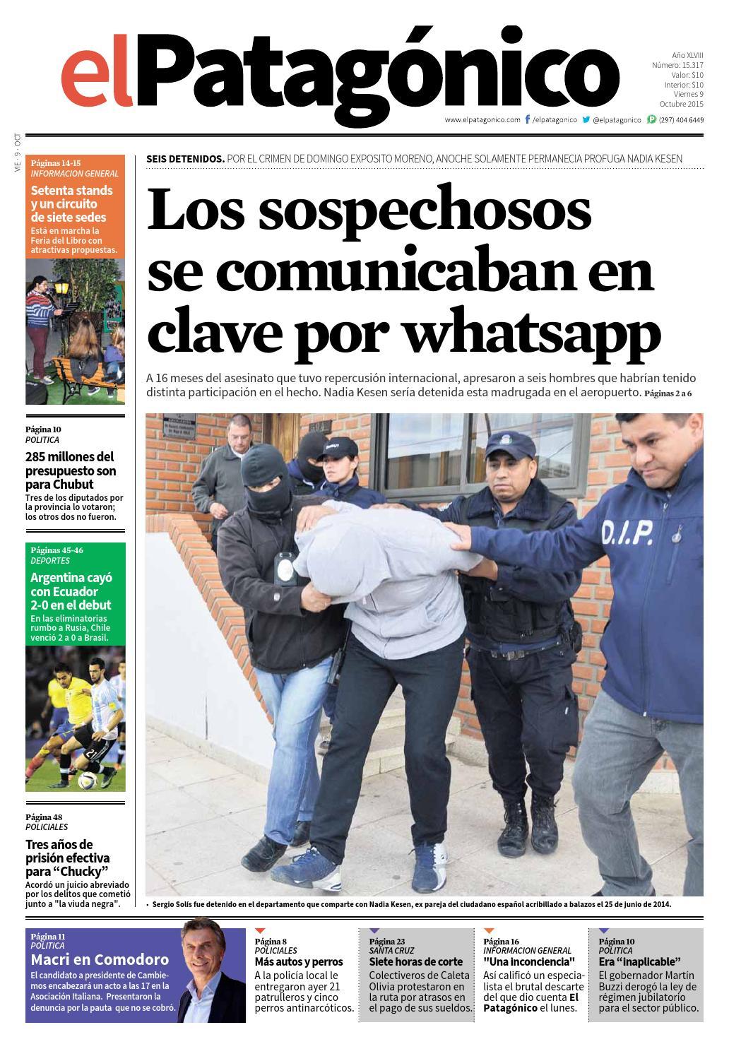 2dd974daa 09102015234608102015.pdf by El Patagonico - issuu