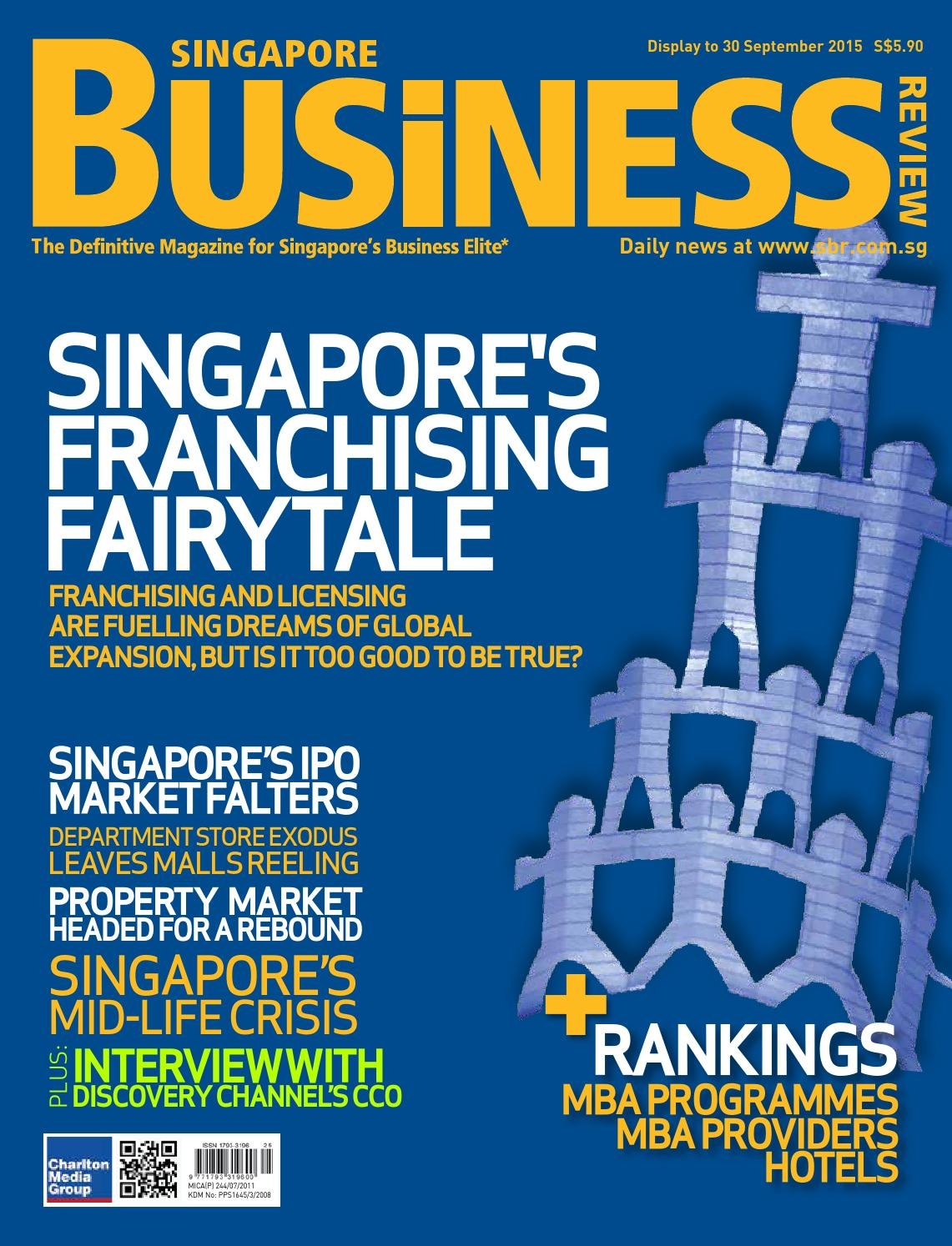 Singapore Business Review August