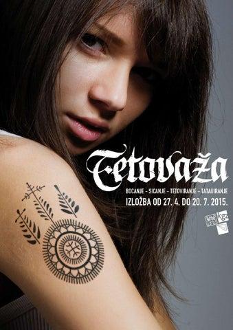 Tetovaža Katalog Izložbe Kgz Knjižnica Medveščak