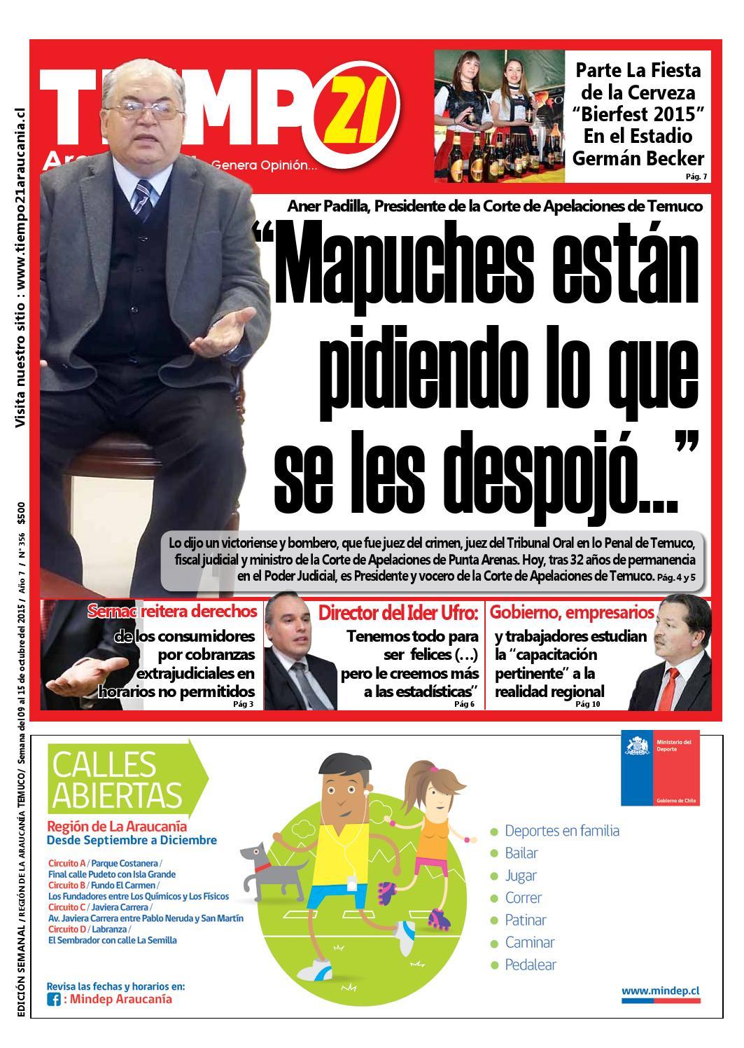 Edici N 356 Presidente Corte De Apelaciones Mapuches Est N  # Muebles Jouannet Temuco