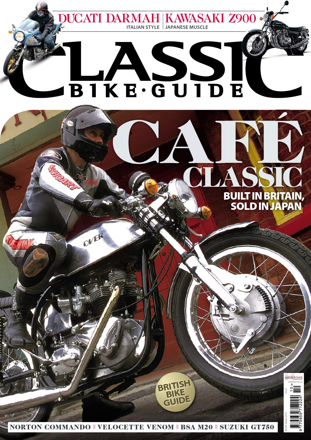 Classic Bike Guide October 2015 Preview By Mortons Media Group Ltd Issuu