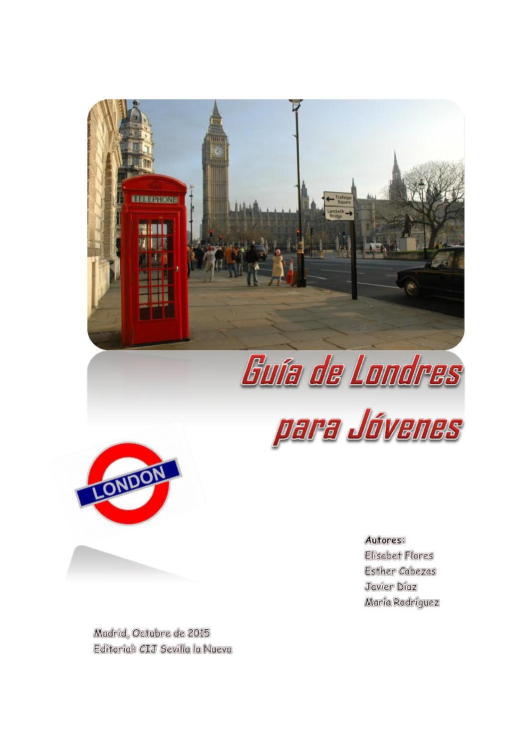 guia londres by Maite Dinamizacion - issuu