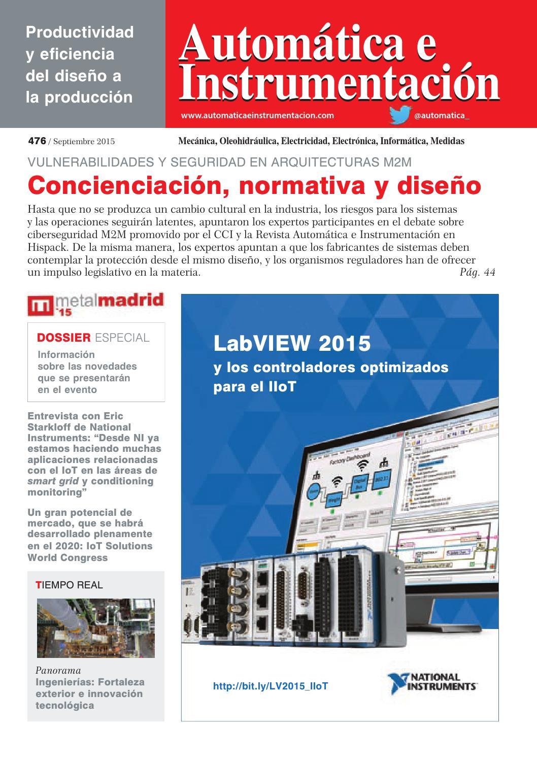 Automática e Instrumentación nº 476 by Digital Newspapers S.L. - issuu