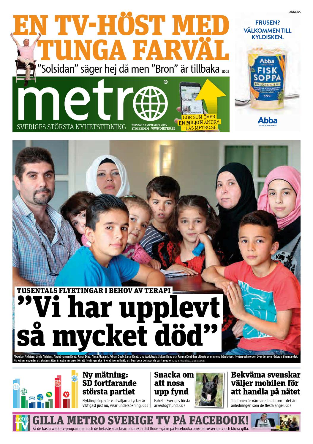 sale retailer 1a023 359f9 20150917 se stockholm by Metro Sweden - issuu