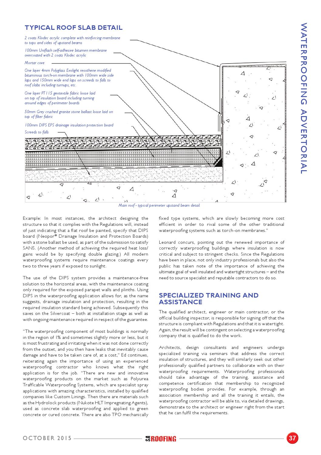 SA Roofing October 2015 | Issue: 74 by Trademax Publications - issuu