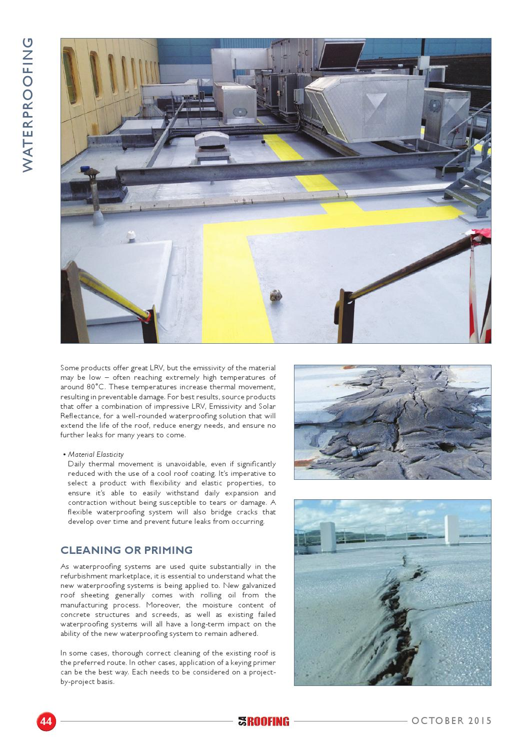 SA Roofing October 2015 | Issue: 74 by Trademax Publications