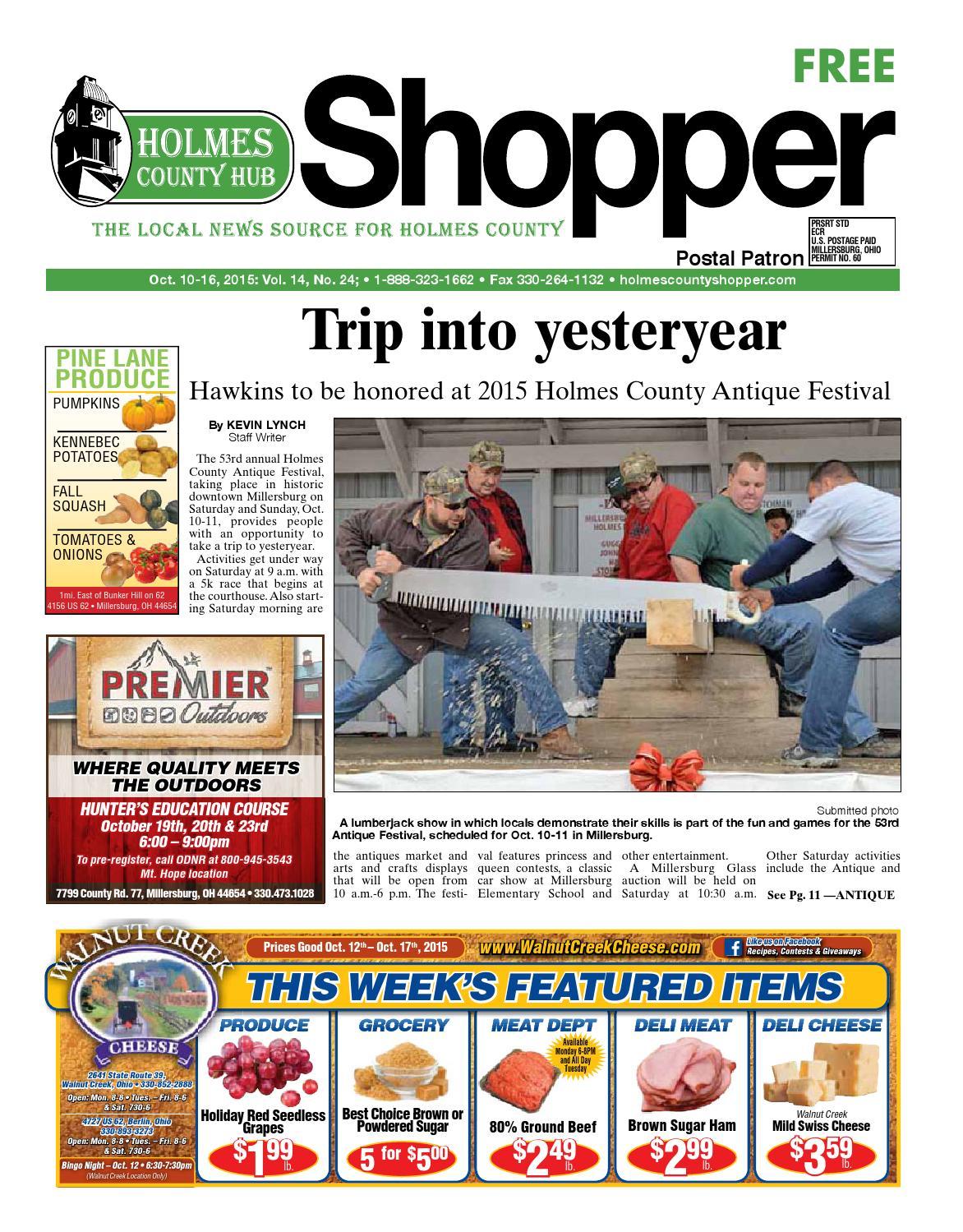 a2acee5fd Holmes County Hub Shopper, Oct. 10, 2015 by GateHouse Media NEO - issuu