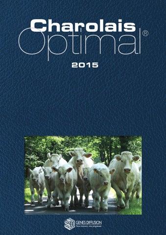 Catalogue Charolais Optimal 2015 2016 by Gènes Diffusion - issuu 627e68c492b
