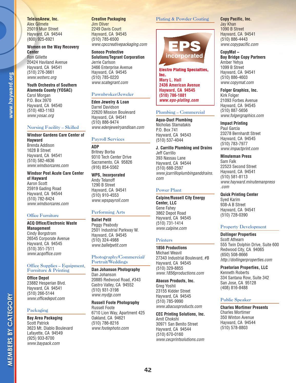 Hayward Ca Community Profile By Townsquare Publications Llc Issuu