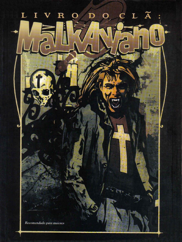 Vampiro a máscara livro do clã malkaviano by Thiago