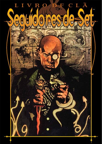 Vampiro a máscara livro do clã seguidores de set by Thiago Fernandes ... 86d125dfda