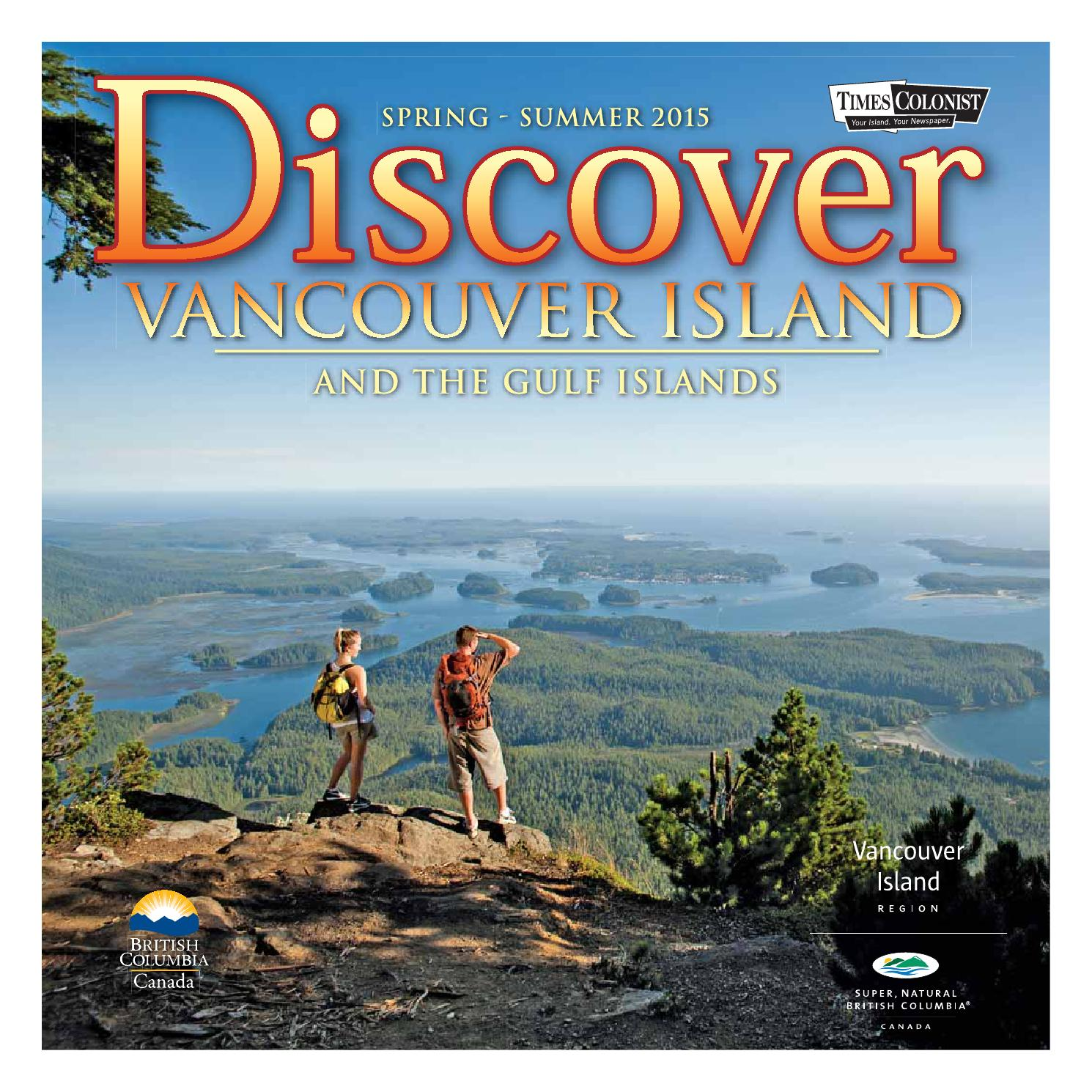 8a3b89625766 Discover Vancouver Island and the Gulf Islands 2015 by Times Colonist -  issuu