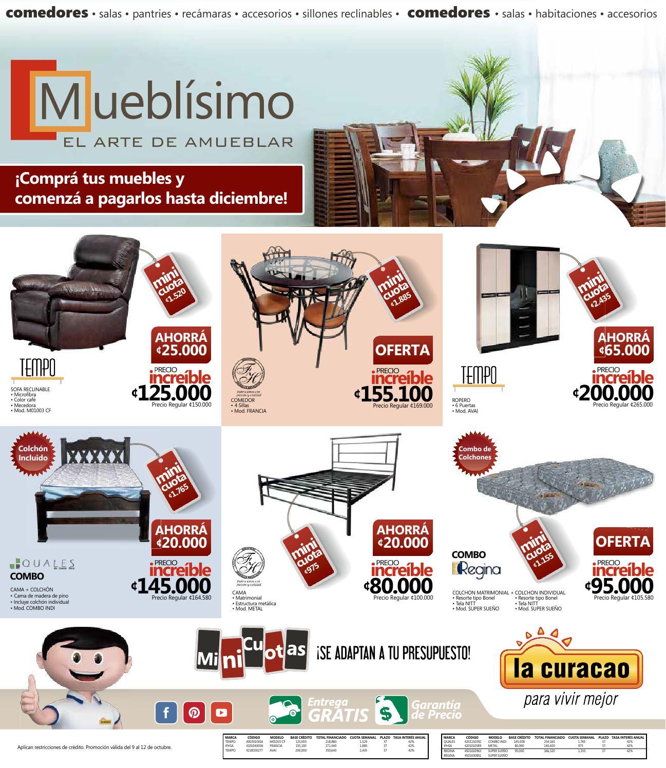 Muebl smo la curacao by la curacao cr issuu - Muebles el mogollon ...