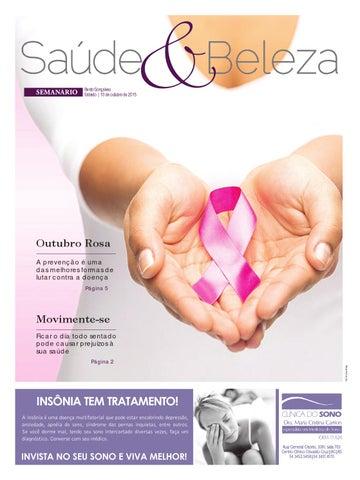 6366f9eff 10/10/2015 - Saúde e Beleza - Edição 3172 by Jornal Semanário ...