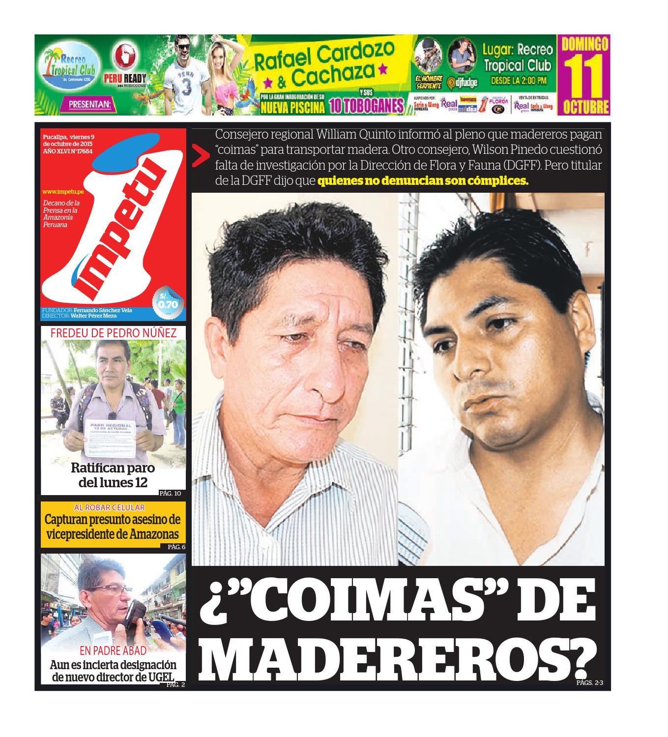 Impetu 9 de ocubre de 2015 by Diario Ímpetu - issuu