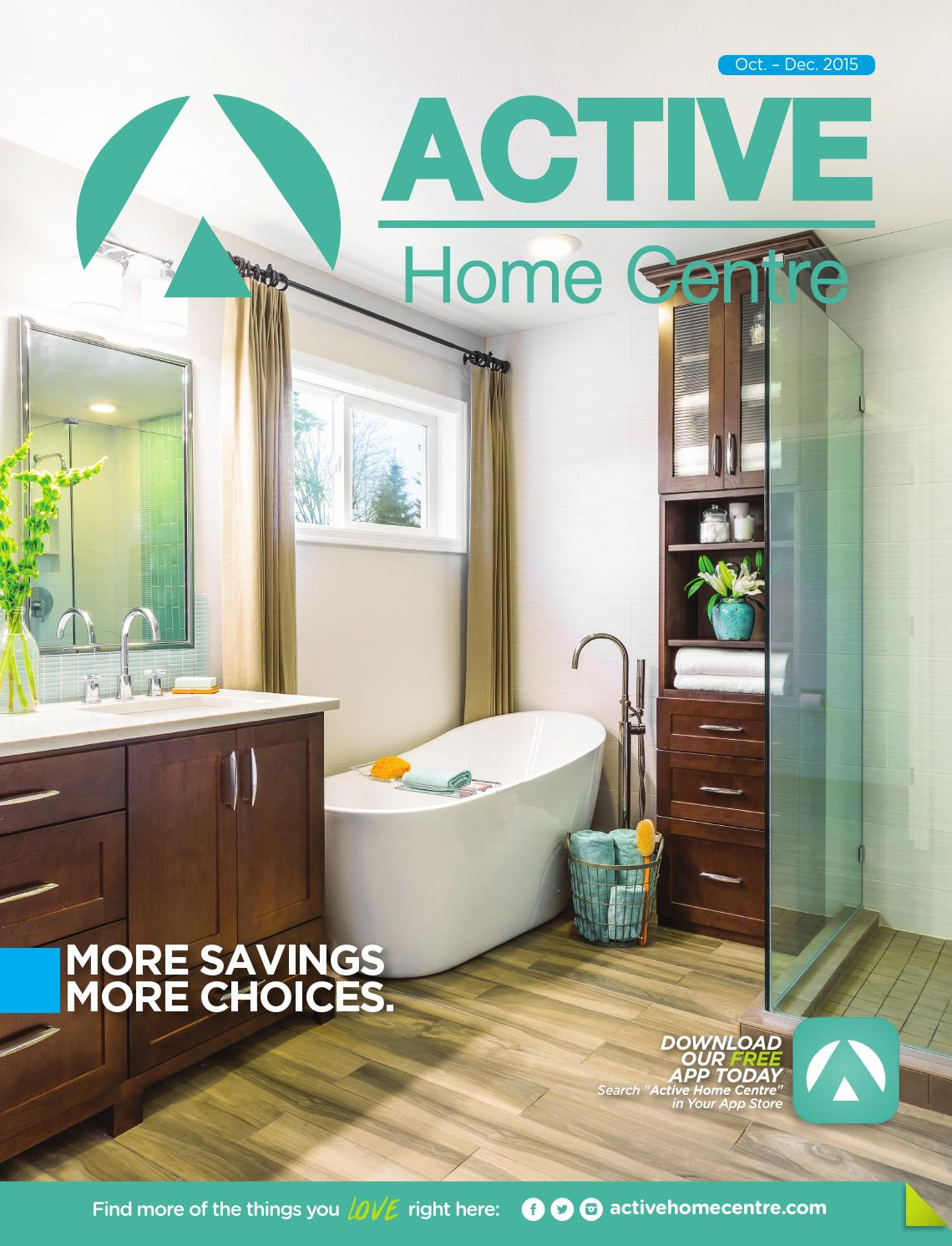Active home centre catalogue 2015 by active home centre for Bathroom designs in jamaica