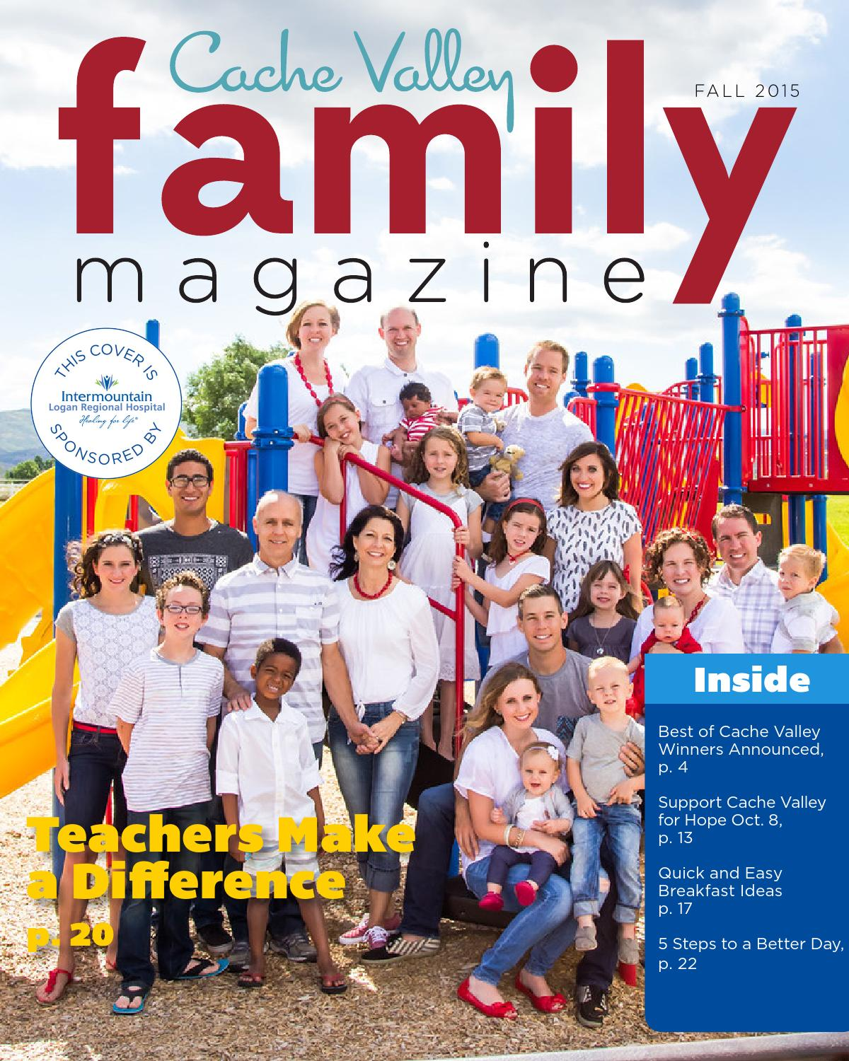Cache Valley Family Magazine Fall 2015 By