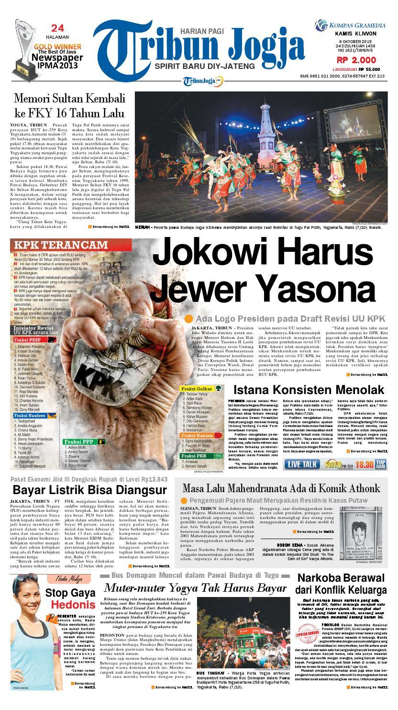 Tribunjogja 08 10 2015 By Tribun Jogja Issuu Produk Ukm Bumn Box Hantaran Pengantin Bio Art