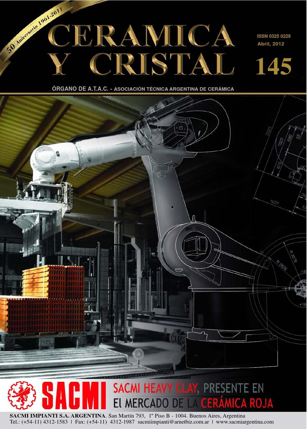 Cerámica Y Cristal 145 By Editorial Ciclo Issuu