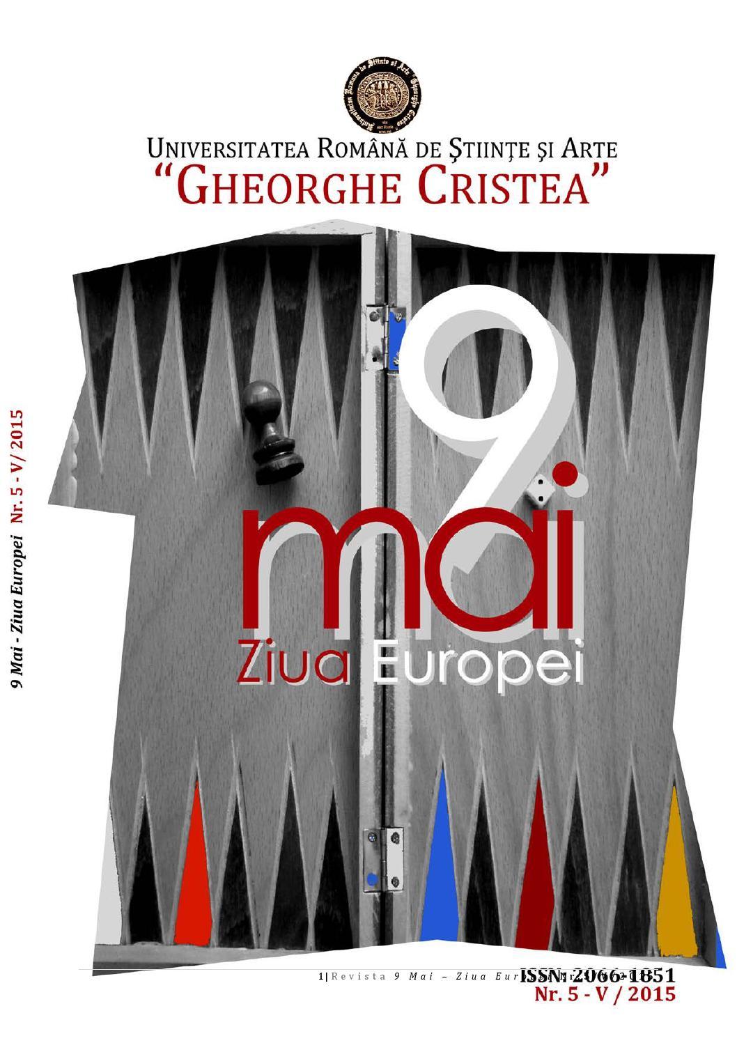 Revista 9 Mai Ziua Europei Nr 5 V 2015 By