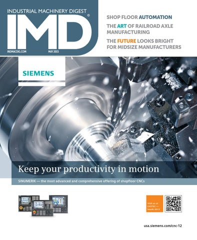 IMD May 2015 by Industrial Machinery Digest | IMD by Source 360