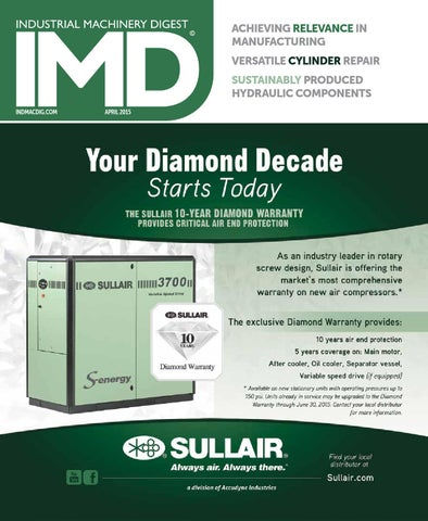 IMD April 2015 by Industrial Machinery Digest | IMD by Source 360