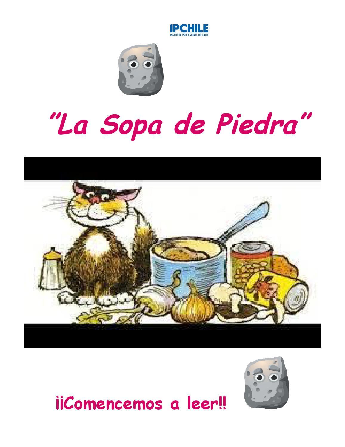 Cuento la sopa de piedra by victoria ulloa - issuu