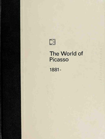 The world of picasso 1881 1973 art ebook by art sf blog issuu page 1 fandeluxe Image collections