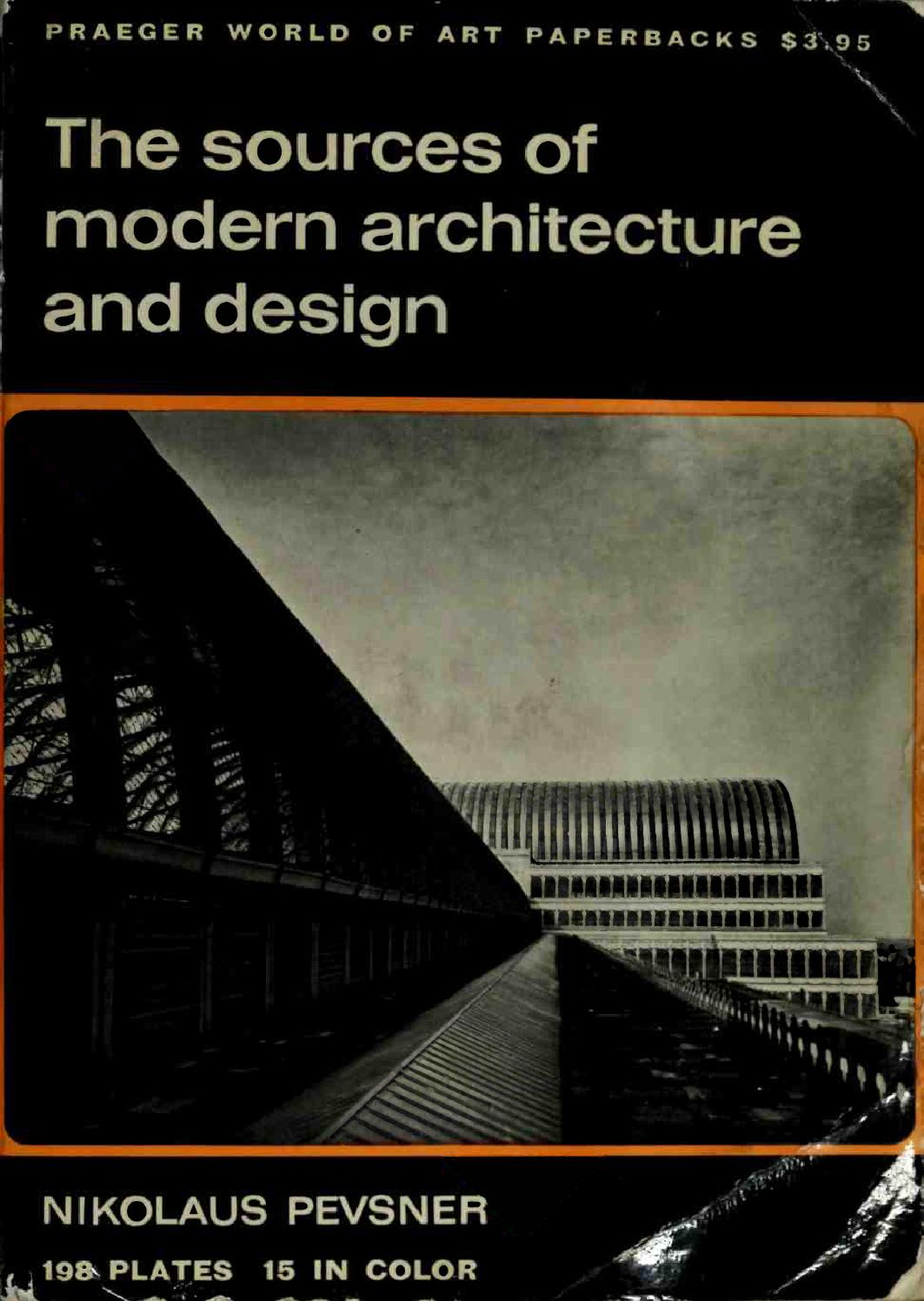 The sources of modern architecture and design 1968 art ebook by art sf blog issuu