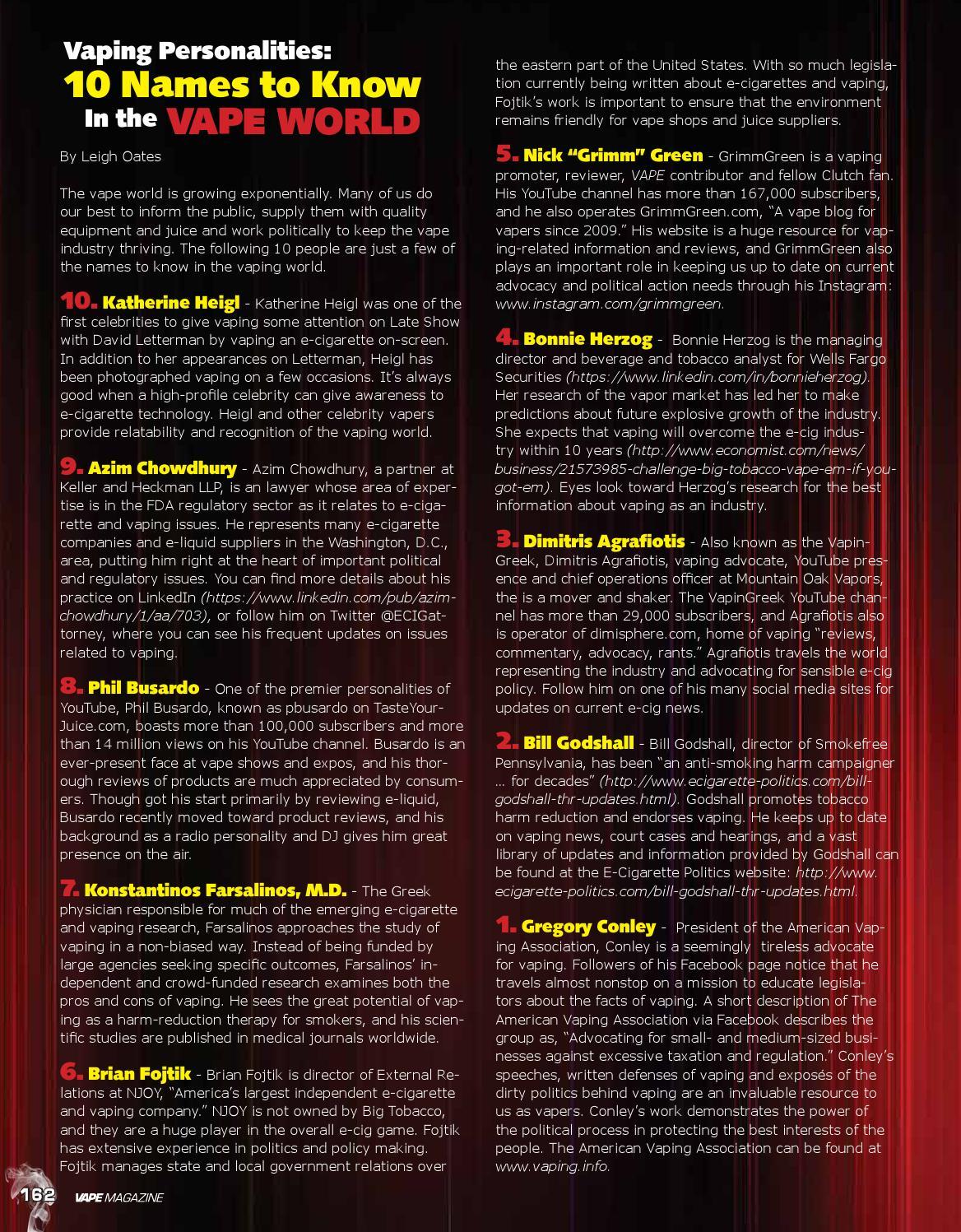 VAPE Magazine October 2015 by Matt Schramel - issuu