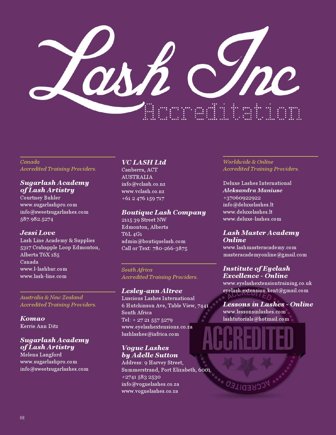 Lash Inc Issue 8