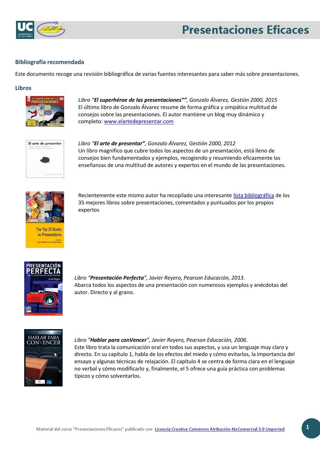 Presentaciones eficaces. Francisco Javier Cervigon Ruckauer by ...