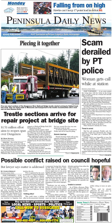 c31f648e9 PDN20151012J by Peninsula Daily News   Sequim Gazette - issuu