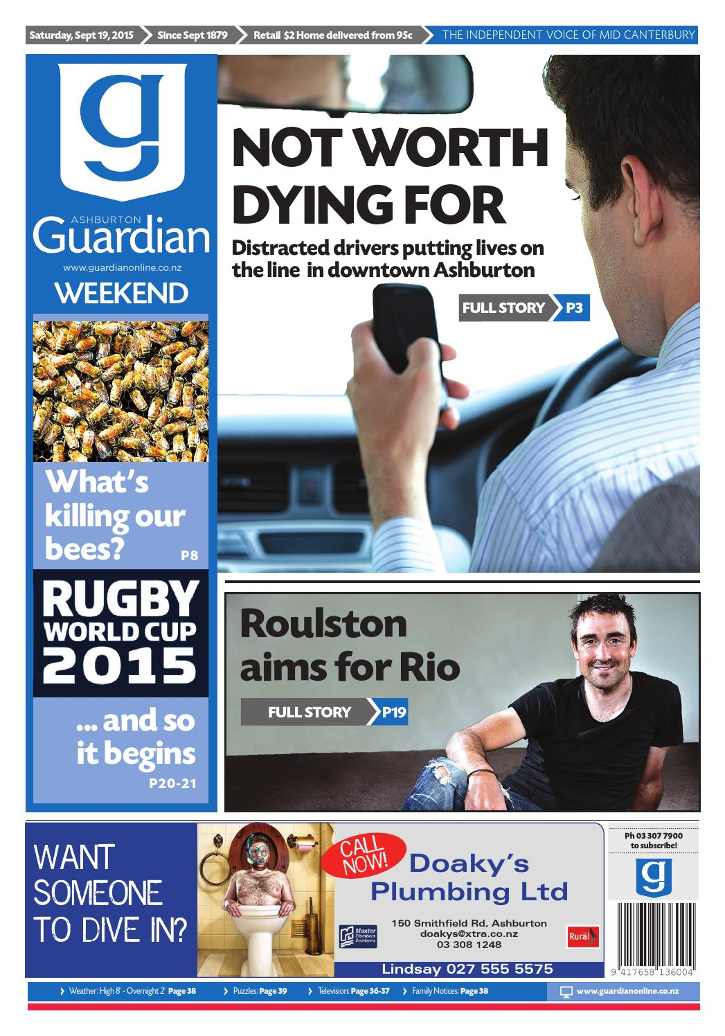 Ag 19 september, 2015 by Ashburton Guardian issuu