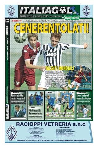 2257783b52 UNDER 15 • Derby della Mole in parità: Pro Vercelli, Cesena e Frosinone le  vere sorprese!