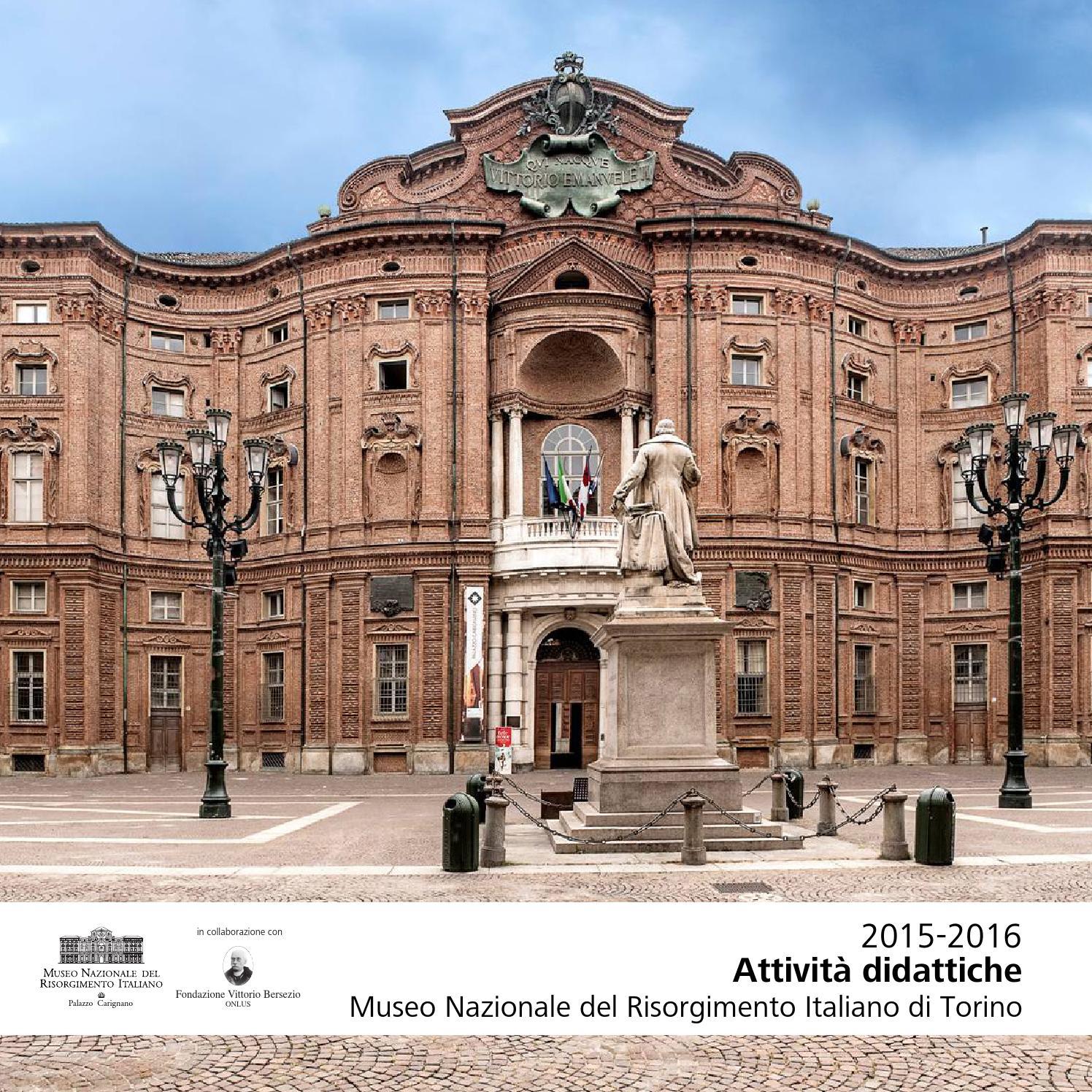 Museo Nazionale Del Risorgimento Italiano.Didattica 2015 16 Museo Nazionale Del Risorgimento Italiano Di