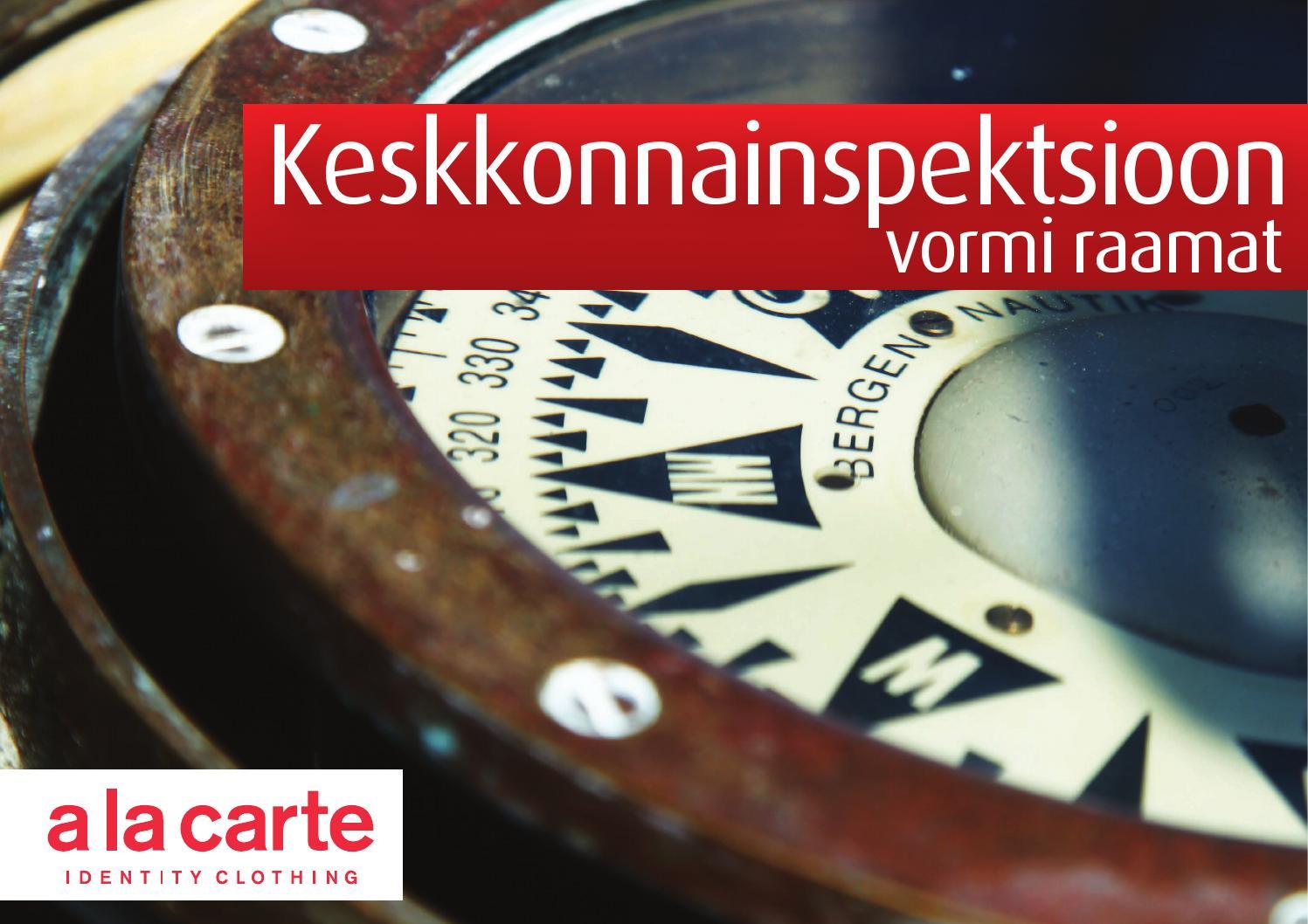 515985425fc KKI vormiraamat by A la Carte Uniforms - issuu
