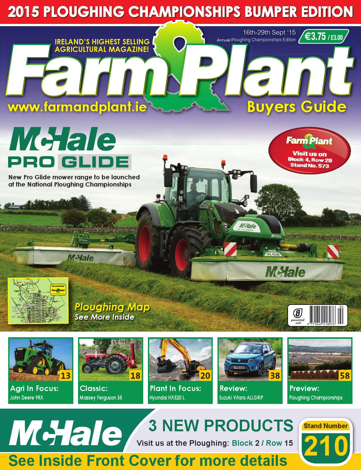 Farm & Plant Iss 290 Ploughing by Clear Designs - issuu