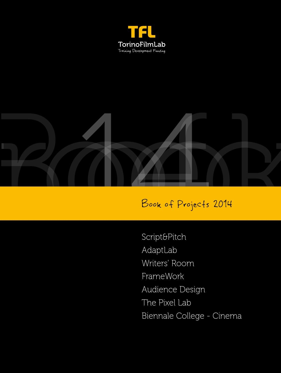 Book of projects 2014 by TorinoFilmLab - issuu 4d6bd29767
