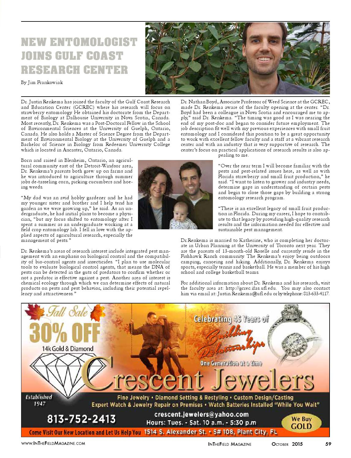 In The Field magazine Hillsborough edition by Berry Publications