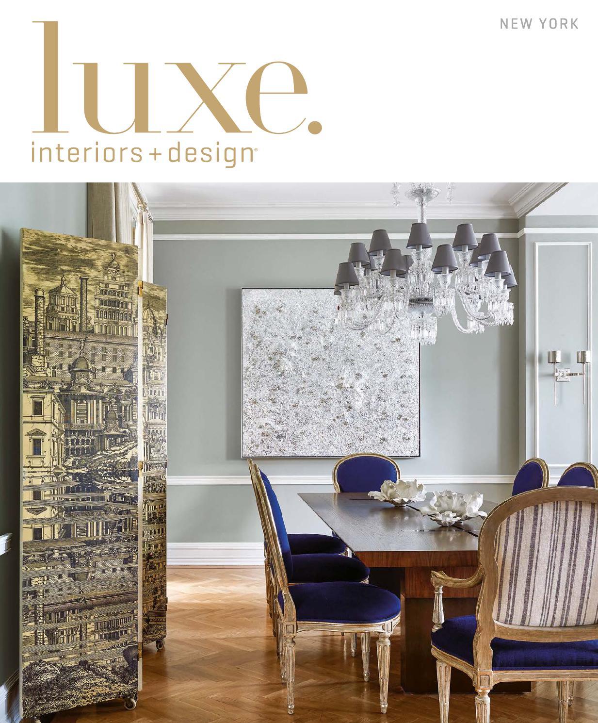 luxe magazine november 2015 new york by sandow issuu. Black Bedroom Furniture Sets. Home Design Ideas