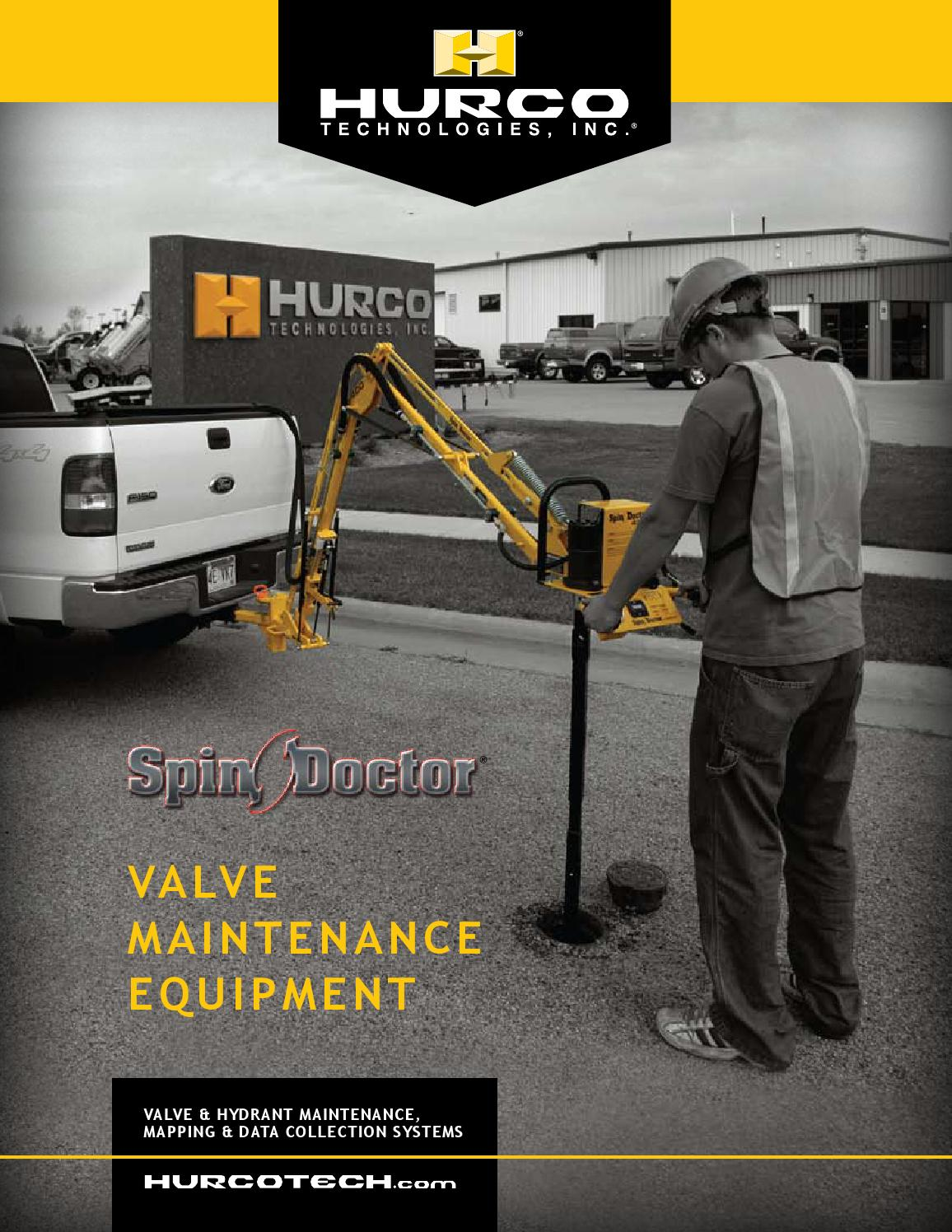 Hurco Technologies Spin Doctor Product Brochure by iDesign