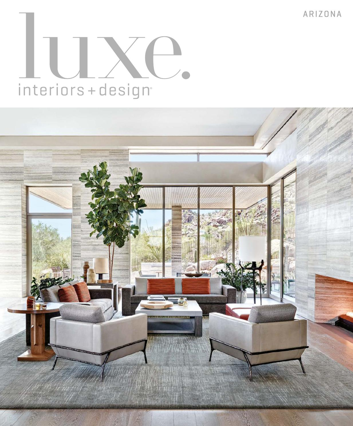 Luxe Magazine November 2015 Arizona By SANDOWR
