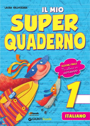 Il Mio Superquaderno 1 Italiano By Amelie Issuu