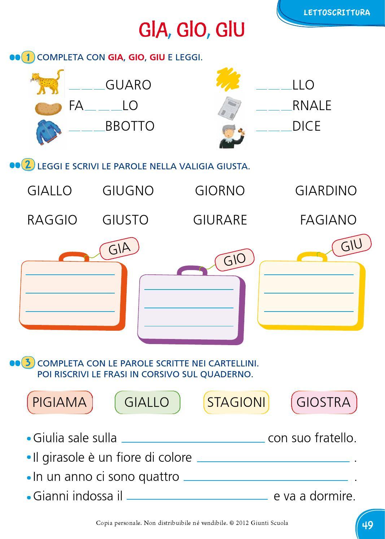 Il mio superquaderno 1 italiano by amelie issuu for Gia gio giu